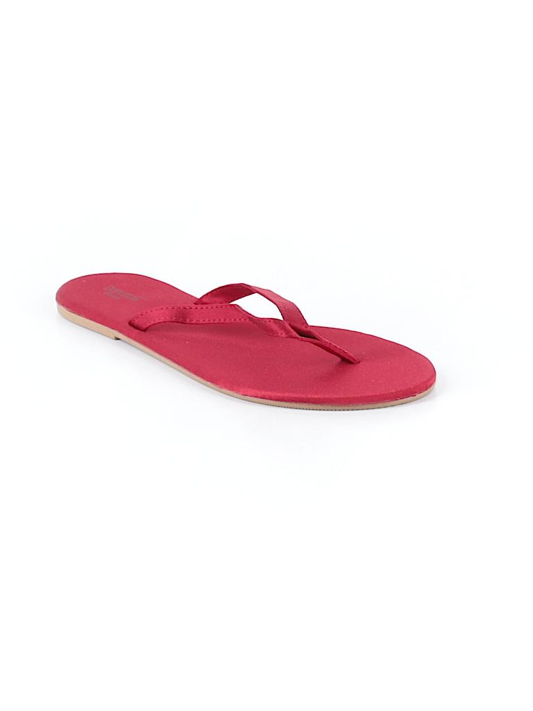 794adb2f6 David s Bridal Solid Red Flip Flops Size 5 6 - 92% off