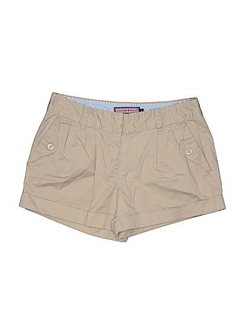 Vineyard Vines Women Khaki Shorts Size 4