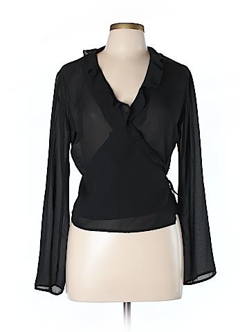 Newport News Women Long Sleeve Blouse Size 10