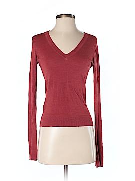 Max Studio Silk Pullover Sweater Size XS