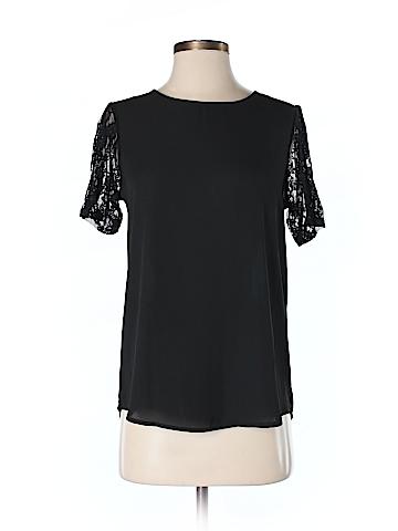 Whisper Short Sleeve Blouse Size S