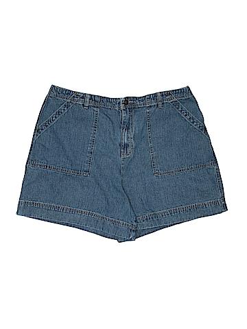 Cj Banks Denim Shorts Size 16