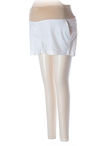 Ann Taylor LOFT Denim Shorts Size 8 (Maternity)