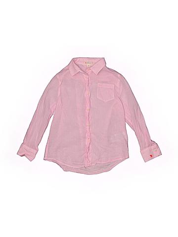 Crewcuts Long Sleeve Button-Down Shirt Size 6