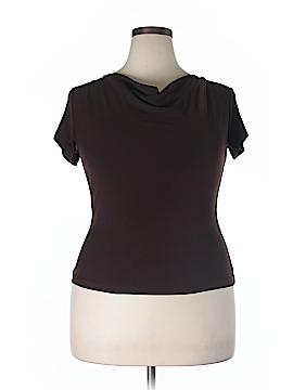 Briggs New York Short Sleeve Blouse Size XL