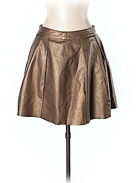 Comptoir des Cotonniers Faux Leather Skirt Size 42 (EU)