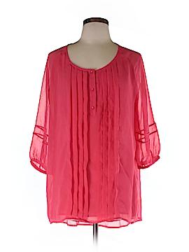 Milla 3/4 Sleeve Blouse Size L