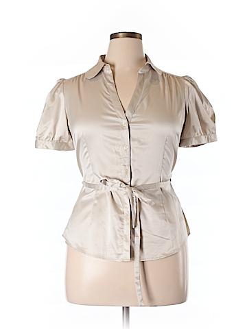 H&M Women Short Sleeve Blouse Size 14