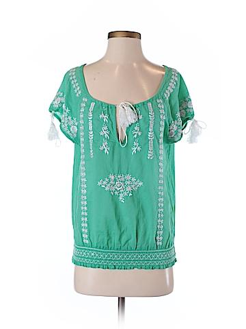 Christiane Celle Short Sleeve Blouse Size S