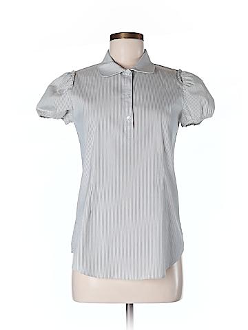 Theory Women Short Sleeve Blouse Size M