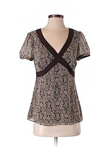 Ann Taylor LOFT Women Short Sleeve Blouse Size 4