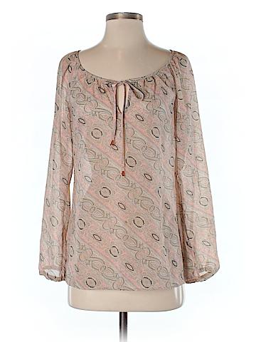 Ann Taylor LOFT Women Long Sleeve Blouse Size 4