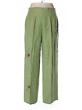 Donna Morgan Linen Pants Size 16
