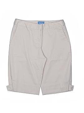 Simply Vera Vera Wang Khaki Shorts Size 2