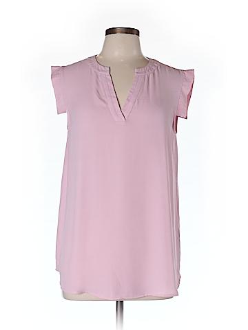 J. Crew Short Sleeve Blouse Size 10 (Tall)