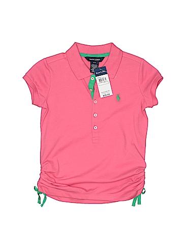 Ralph Lauren Short Sleeve Polo Size 7
