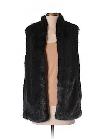 Club Monaco Faux Fur Vest Size S