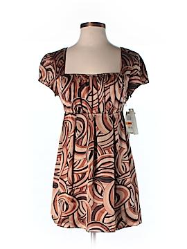 E.col.o.gie Short Sleeve Silk Top Size S