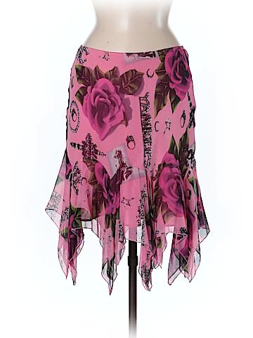 Betsey Johnson Silk Skirt Size 8