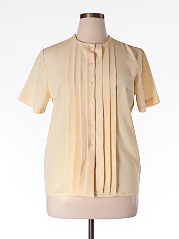 Talbots Short Sleeve Blouse Size 16