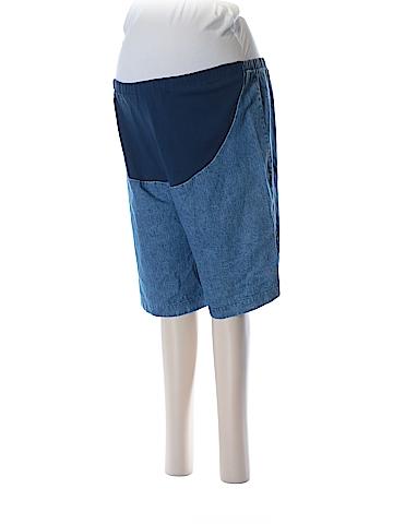 New Additions Maternity Denim Shorts Size 8 (Maternity)