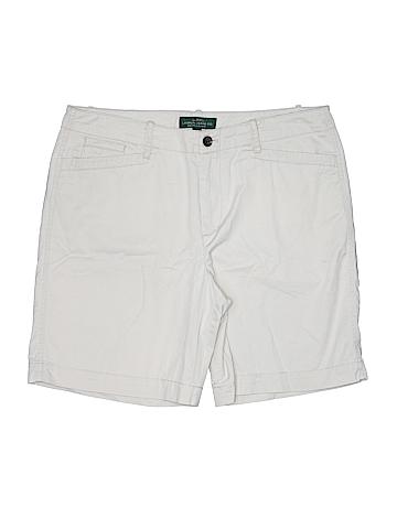 L-RL Lauren Active Ralph Lauren Women Khaki Shorts Size 12
