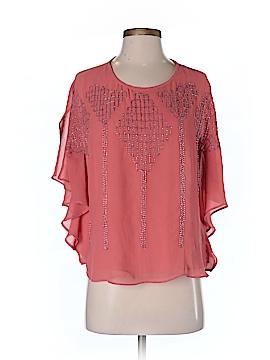 I. Madeline Short Sleeve Blouse Size S