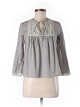 Jill Stuart Long Sleeve Blouse Size Med (2)