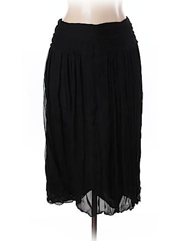 D. Exterior Silk Skirt Size 44 (FR)