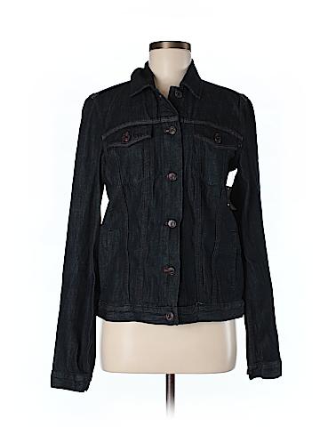 Gap Women Denim Jacket Size M (Tall)
