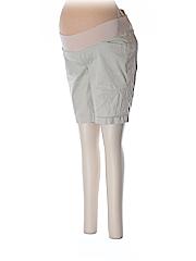 Old Navy Khaki Shorts Size 8 (Maternity)