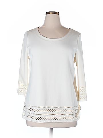 Alfani 3/4 Sleeve Blouse Size XL