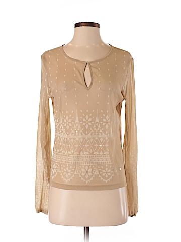 New York & Company Women Long Sleeve Top Size S