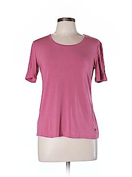 Blue Les Copains Short Sleeve T-Shirt Size 46 (EU)