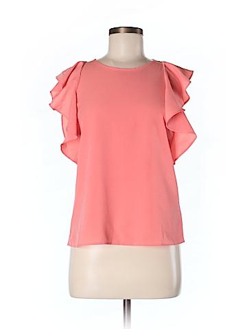 Banana Republic Factory Store Short Sleeve Blouse Size M (Petite)