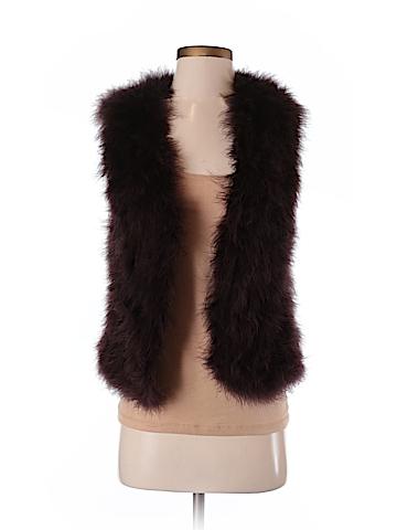 Club Monaco Faux Fur Vest Size XS