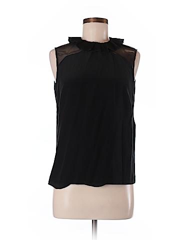 Sandro Sleeveless Silk Top Size M