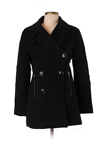 Sofia Cashmere Wool Coat Size 10
