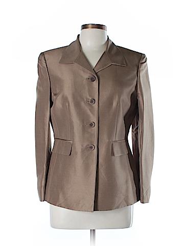 Kasper A.S.L. Silk Blazer Size 10 (Petite)