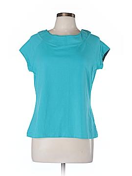Laura Ashley Short Sleeve T-Shirt Size L (Petite)