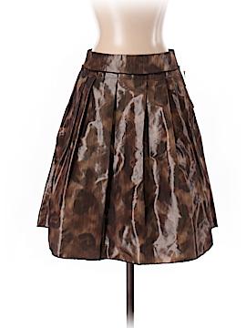 Pink Tartan Casual Skirt Size 0