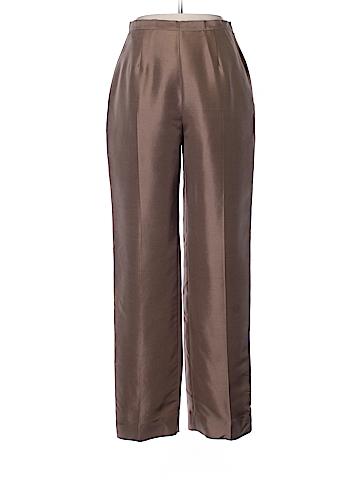 Kasper A.S.L. Silk Pants Size 10 (Petite)