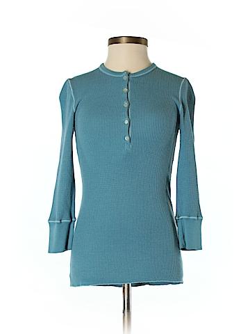 Splendid 3/4 Sleeve Henley Size S