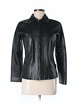 Vera Pelle Faux Leather Jacket Size 42 (IT)