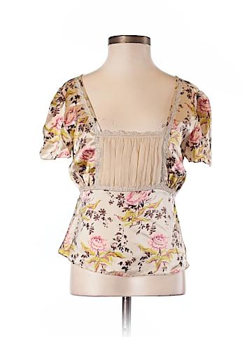 Banana Republic Short Sleeve Silk Top Size XS (Petite)