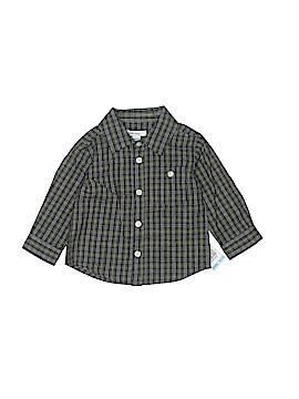 Greendog Long Sleeve Button-Down Shirt Size 6-9 mo