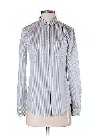 J. Crew Long Sleeve Silk Top Size 0
