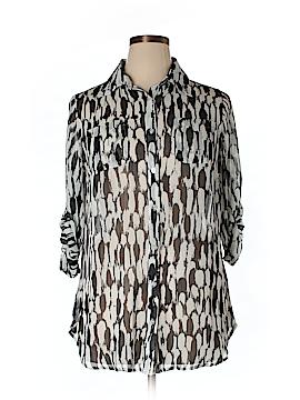 Avenue Long Sleeve Blouse Size 14