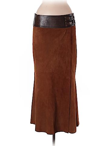 Ralph Lauren Leather Skirt Size 8