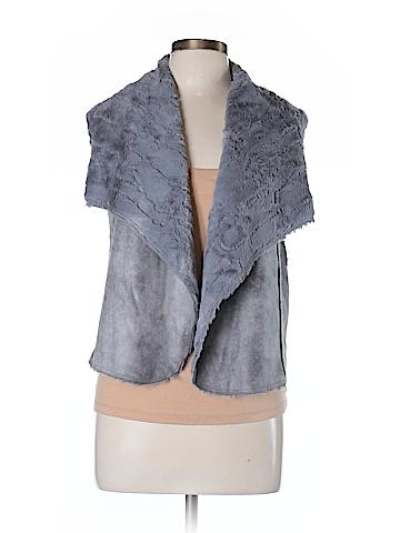 Ella Moss Faux Fur Vest Size M